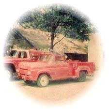 First Fire Chief Vehicle During late 1970s