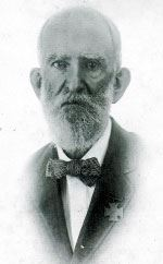 Man named Searcy in suit with bow tie